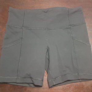 Lululemon Black Biking Shorts